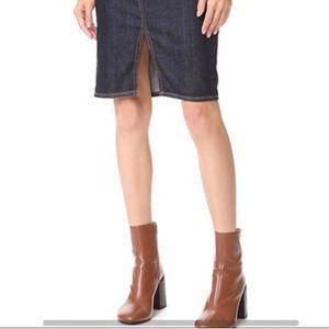 Adriano Goldschmted Materntity Denim Skirt Size 30